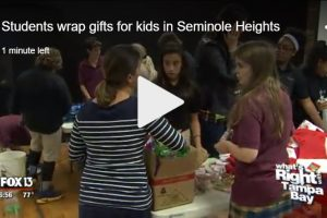 students-wrap-gifts-for-children-seminole-heights